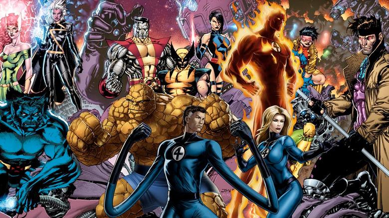 Marvel Comics - Fox Marvel Characters in the MCU