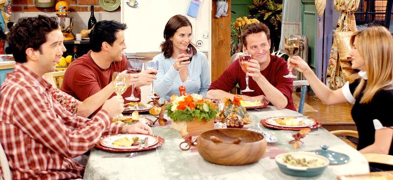 Friends Thanksgiving Warner Bros Studio Tour