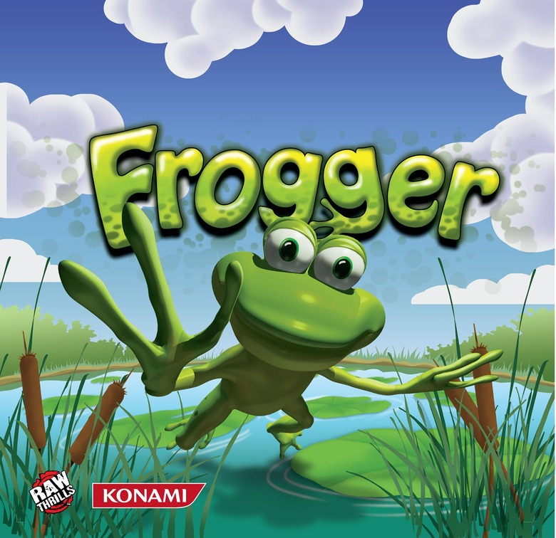 frogger competition series