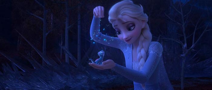 Frozen II Bruni and Elsa
