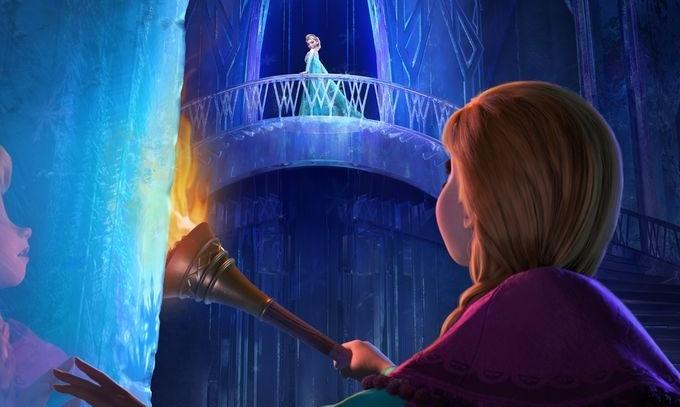 Frozen - Elsa and Anna (header)