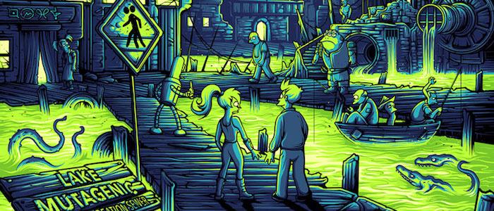 Futurama Dan Mumford print