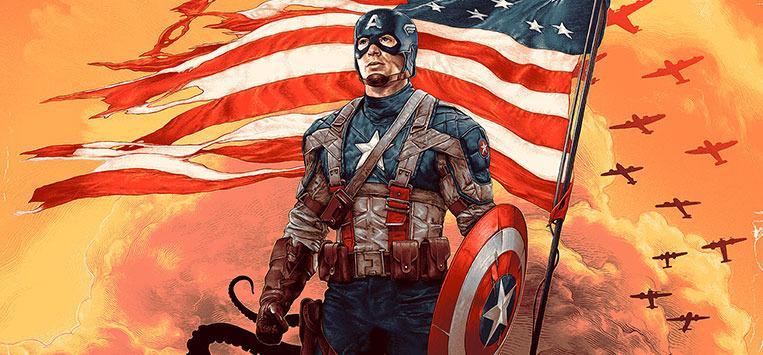 Gabz Art Gallery Show - Captain America: The First Avenger