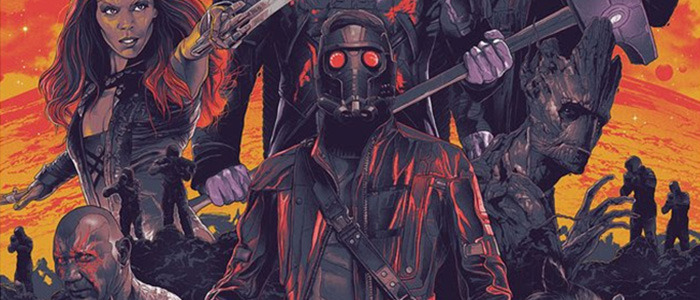 Gabz Guardians of the Galaxy Poster