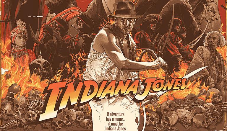 Gabz Indiana Jones Trilogy Print