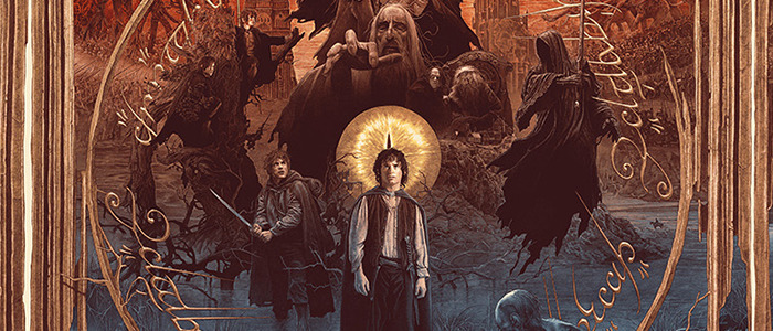 Gabz Lord of the Rings Trilogy Poster