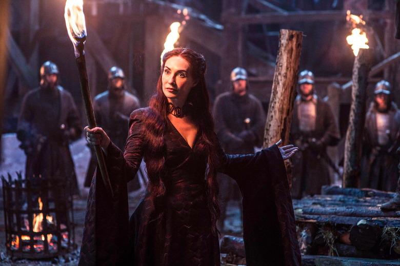 Game of Thrones Season 5 - Carice van Houten as Melisandre