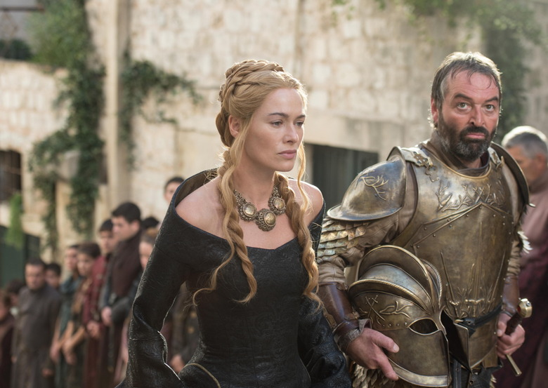Game of Thrones Season 5 - Cersei Lannister and Meryn Trant