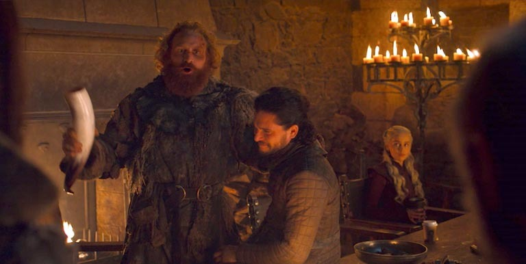 Game of Thrones Coffee Cup Removed