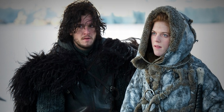 Game of Thrones - Jon Snow and Ygritte