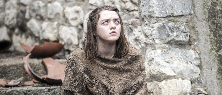 Game of Thrones Season 6 - Maisie Williams as Arya