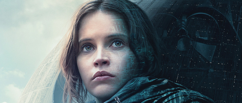 Gareth Edwards Rogue One poster