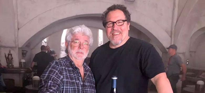 George Lucas Gave Advice to Jon Favreau