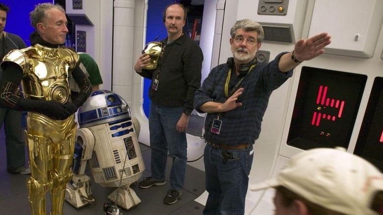 George Lucas Star Wars Sequel Trilogy
