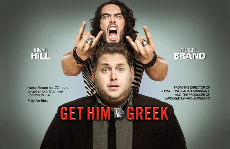 Get Him To The Greek Poster Top
