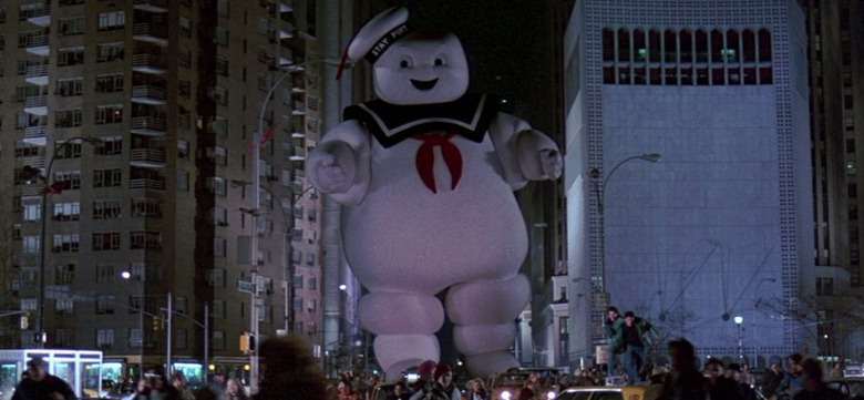 Ghostbusters Edible Stay Puft Marshmallow Man