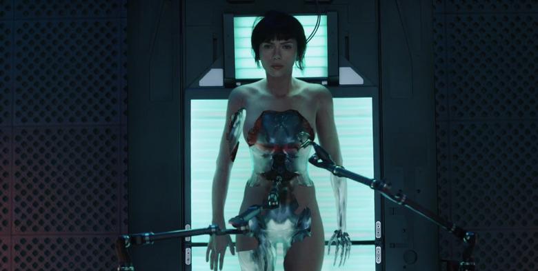 Ghost in the Shell Trailer - Scarlett Johansson