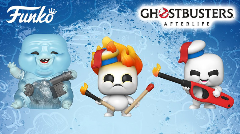Ghostbusters: Afterlife Funko POPs Cook Up Mini-Pufts, Muncher And New Young Heroes