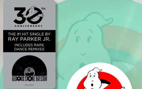Ghostbusters Record Store Day header