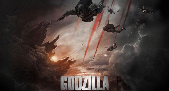 Godzilla trailer header