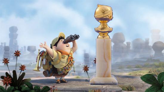 pixar up golden globe