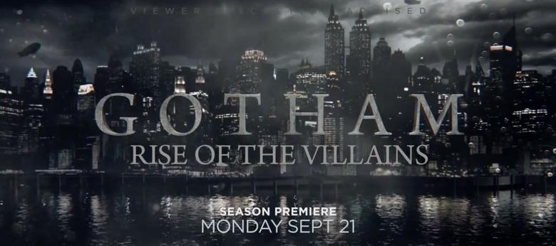 Gotham season 2 teaser trailer