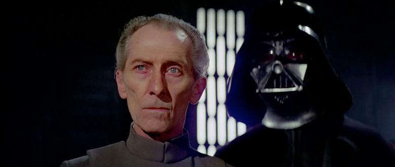 Star Wars - Grand Moff Tarkin in Rogue One - Peter Cushing