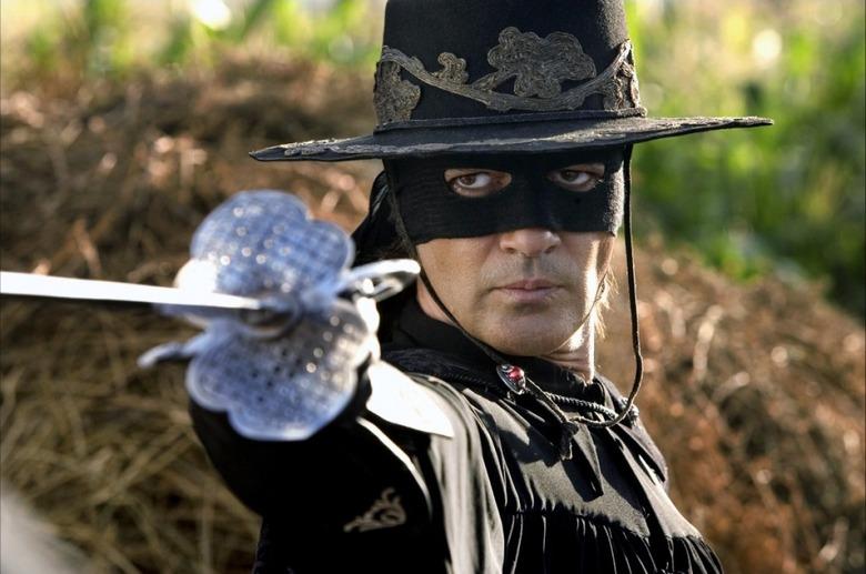 Antonio Banderas in Mask of Zorro