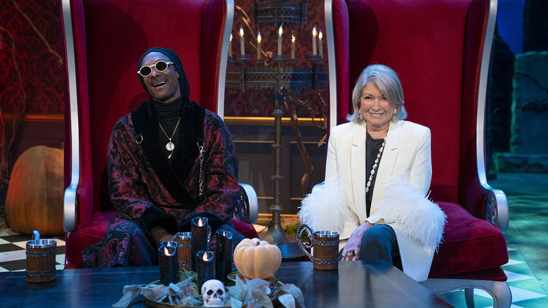 Gruesome Twosome Snoop Dogg And Martha Stewart Are Cooking Up Something Special This Halloween