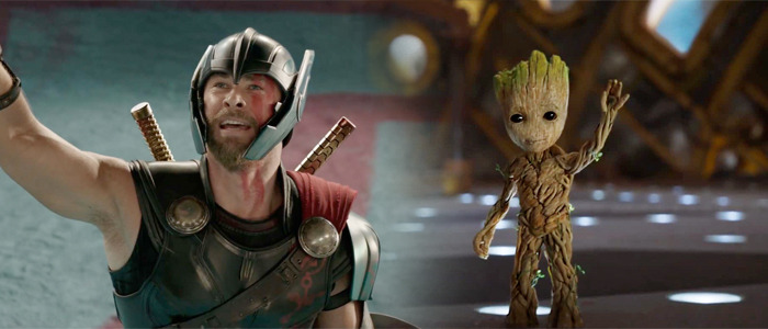 Guardians of the Galaxy 2 and Thor Ragnarok Awards