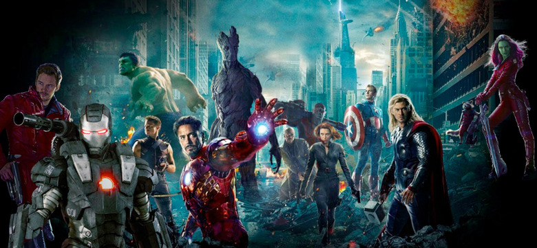 Guardians of the Galaxy and Avengers crossover