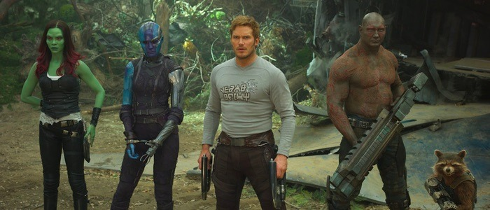 Guardians of the Galaxy characters don't speak English