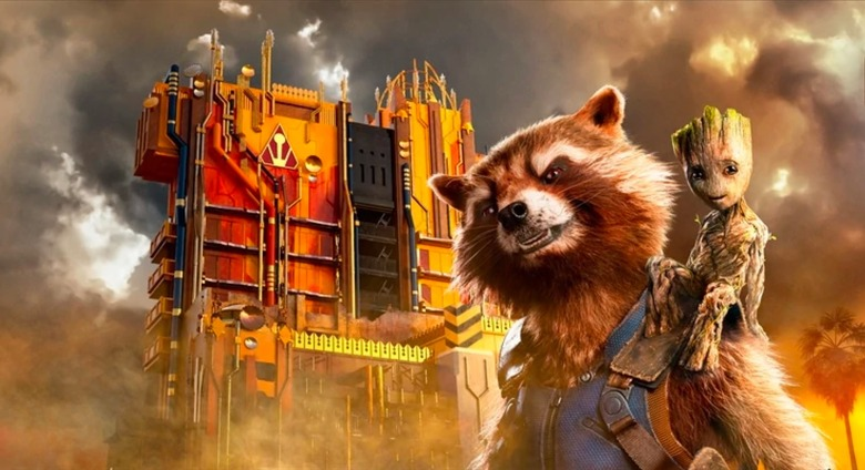 Guardians of the Galaxy Mission Breakout Easter eggs