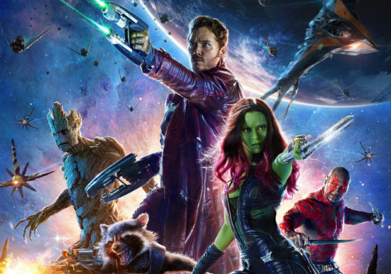 Guardians of the Galaxy poster header full