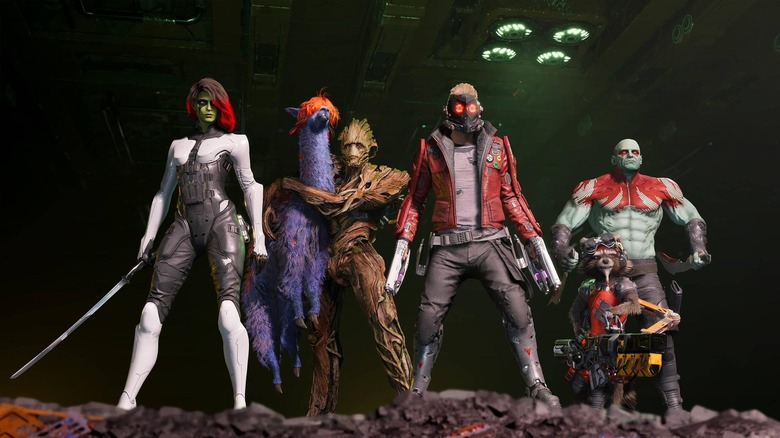 Guardians Of The Galaxy Video Game Trailer: We Are Groot- Er, Marvel s Latest Next-Gen Game