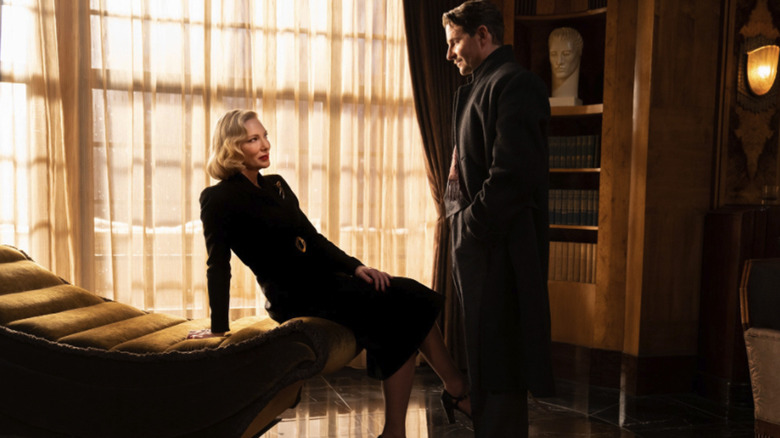 Bradley Cooper and Cate Blanchett