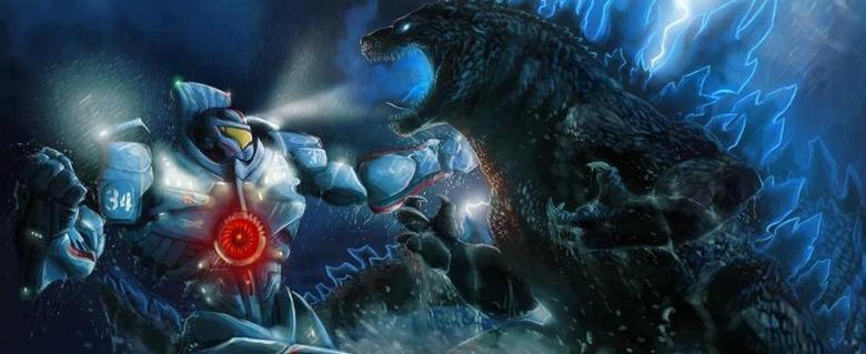 Pac Rim vs Godzilla