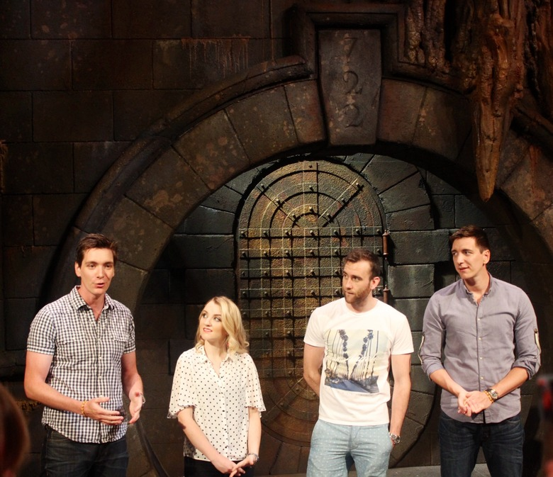 Harry potter stars announce Diagon alley opening date