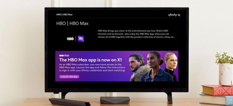 HBO Max On Xfinity X1