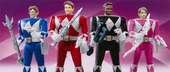 Head-Flipping Power Rangers Action Figures