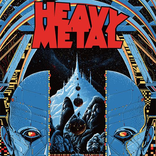 Heavy Metal teaser poster