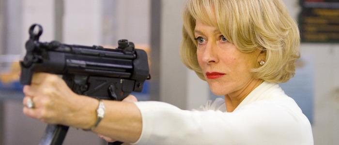 Helen Mirren stunt