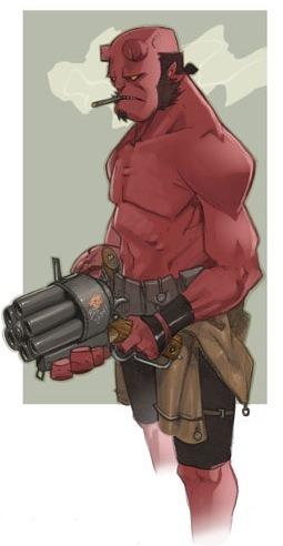 Hellboy 2 concept art