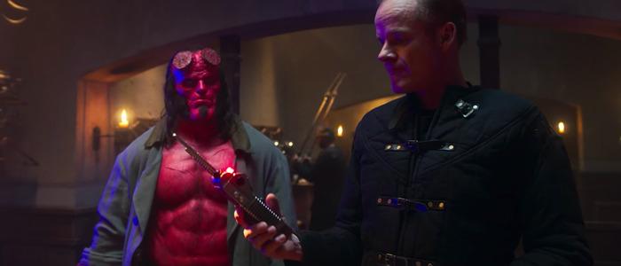 Hellboy clip