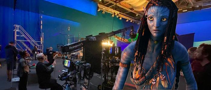 Avatar 2 set photo - Jon Landau
