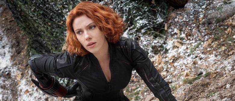 Scarlett Johansson as Black Widow in Avengers Age of Ultron - Scarlett Johansson Is Now The Highest-Grossing Female Movie Star Of All Time