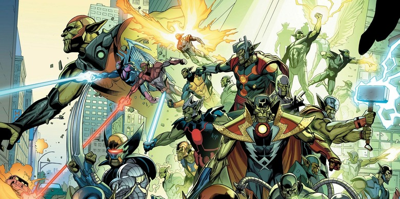 History of the Skrulls