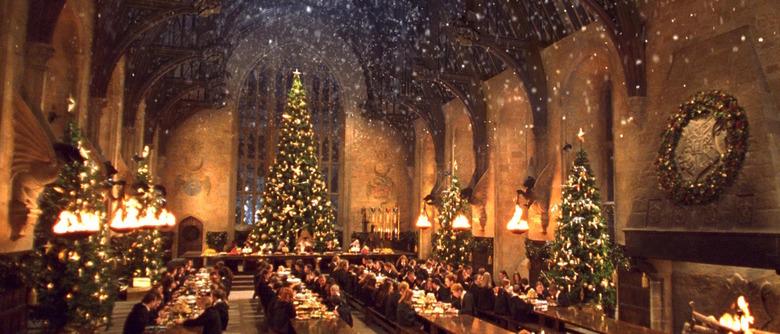 Hogwarts dinner