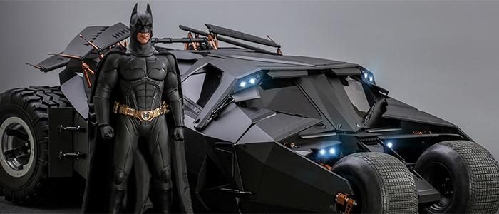 Hot Toys Batman Begins Batmobile