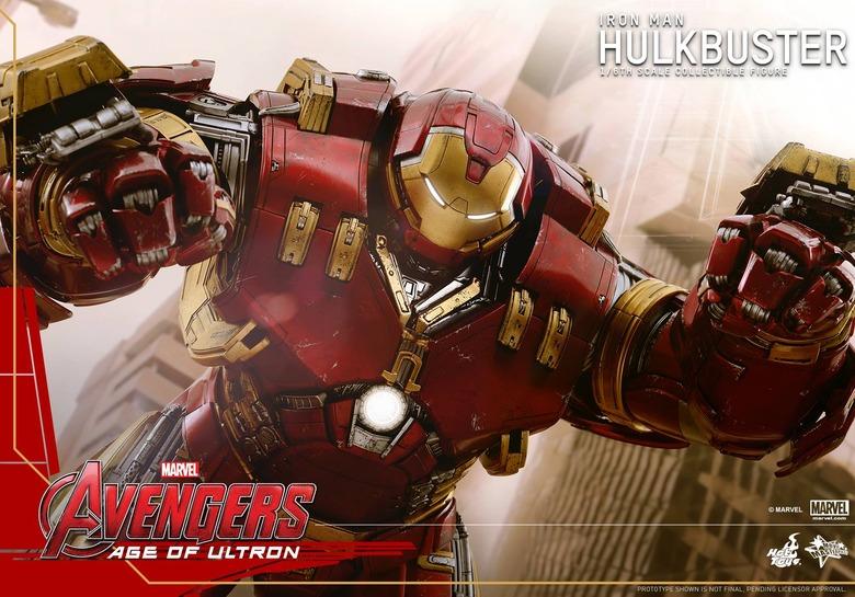 Hot Toys Avengers Hulkbuster 12